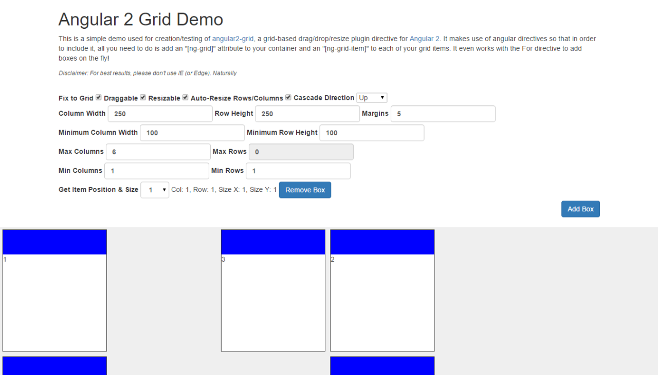 Grid Directive - Angular Expo