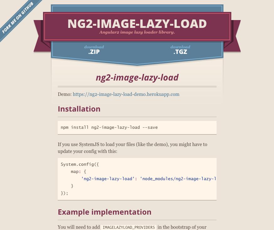 Lazy Loader - Angular