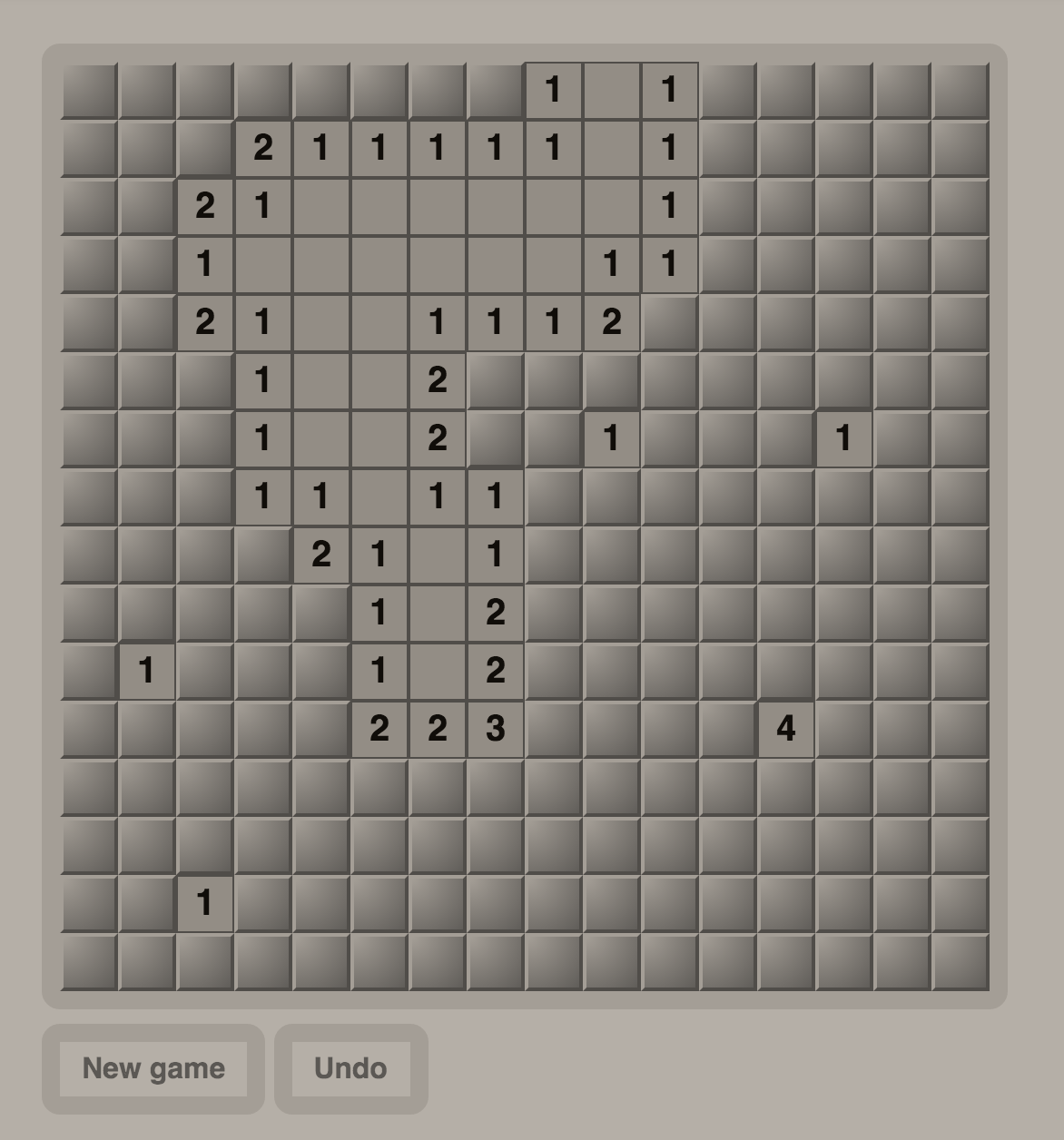 Minesweeper - Angular 2