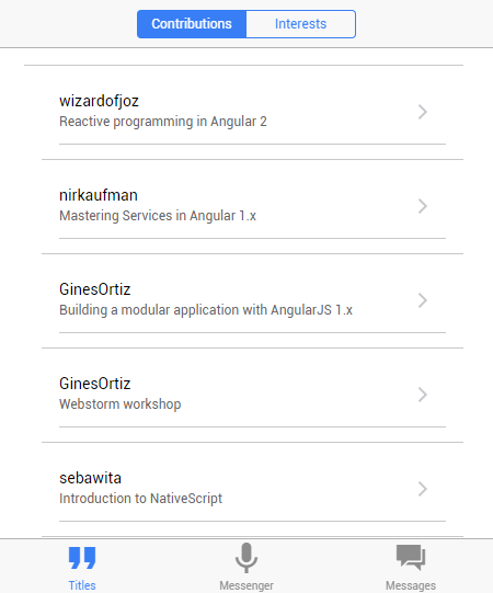 FutureApp - Angular 2