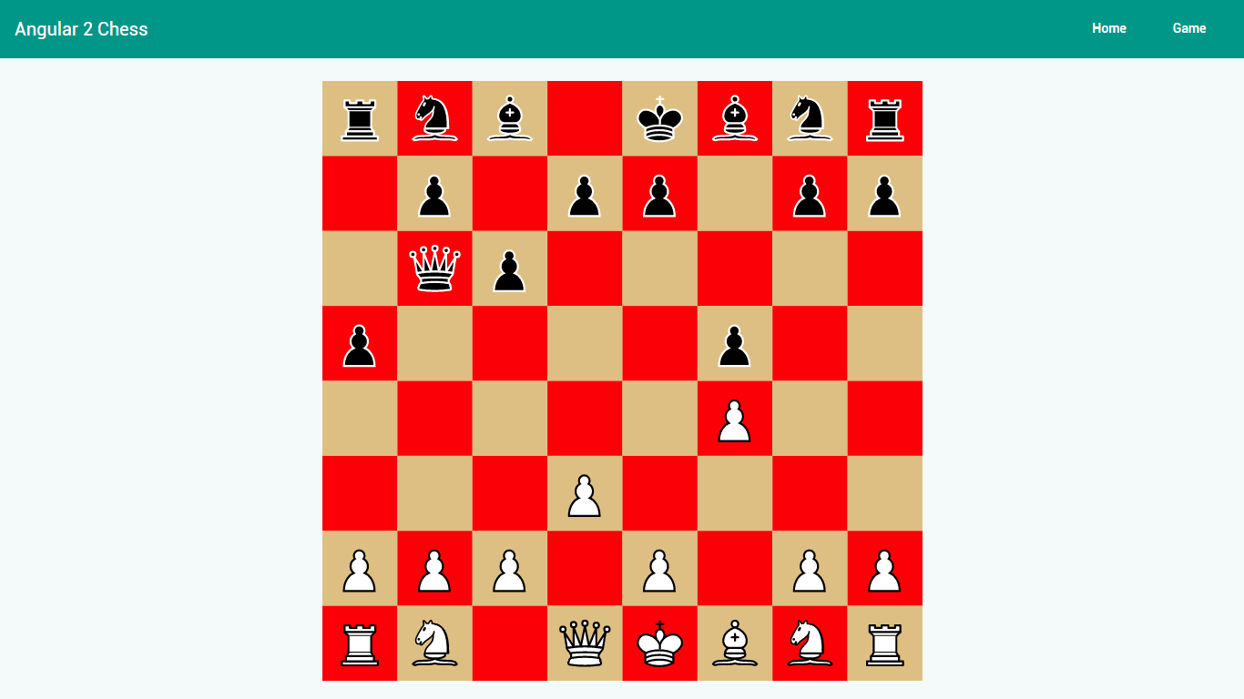 Chess Game - Angular