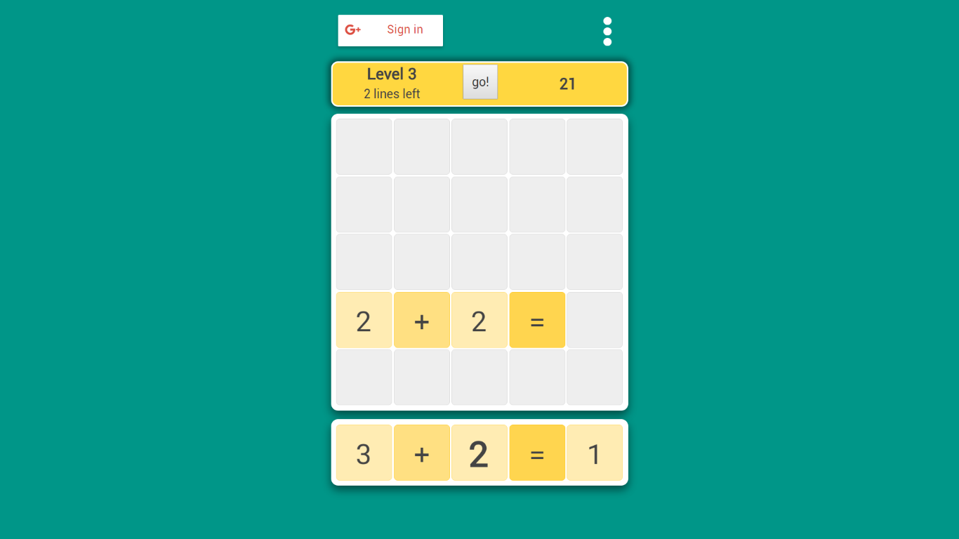 Arithmetis puzzle game - Angular