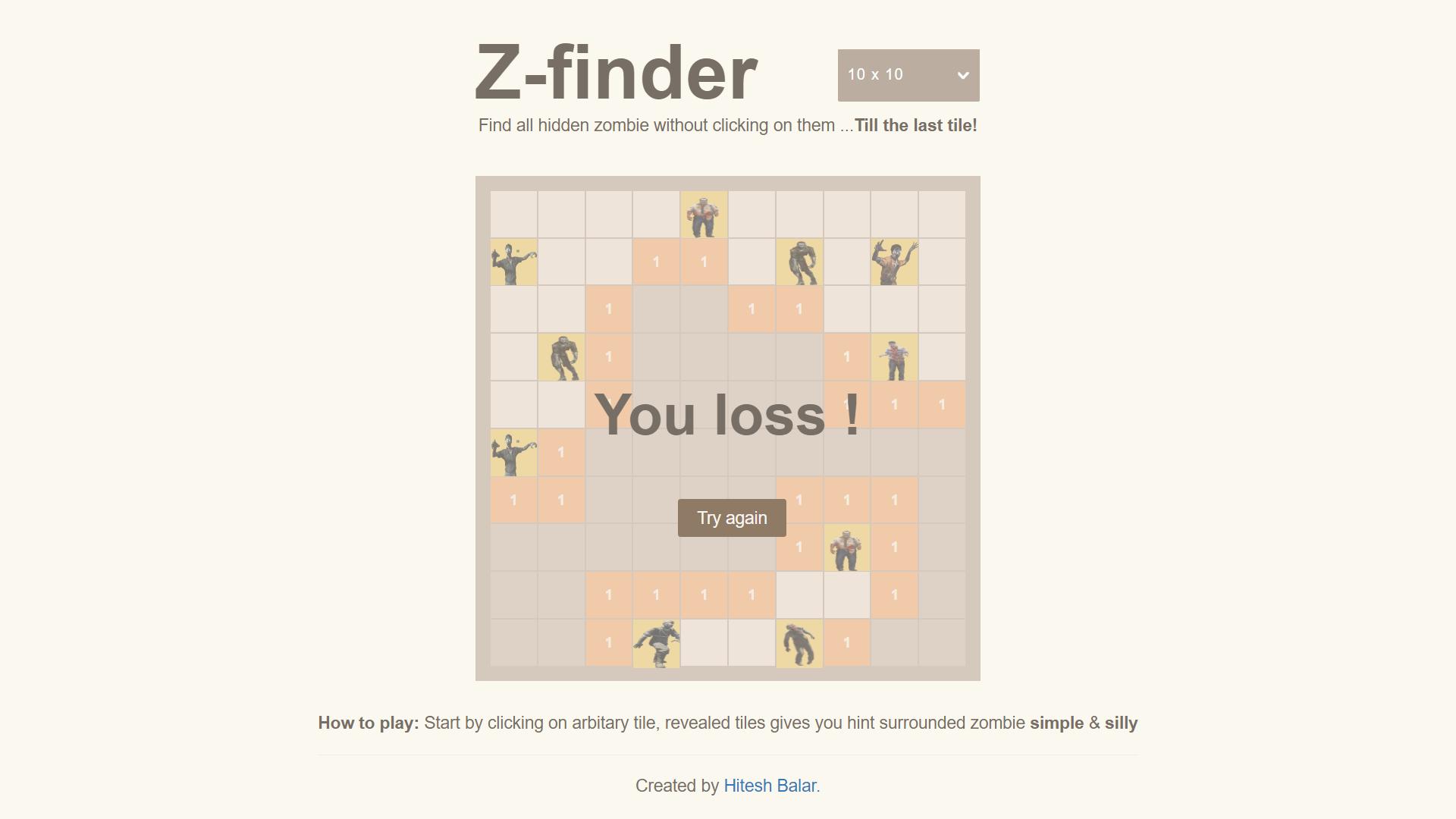 Zombie Finder - Angular