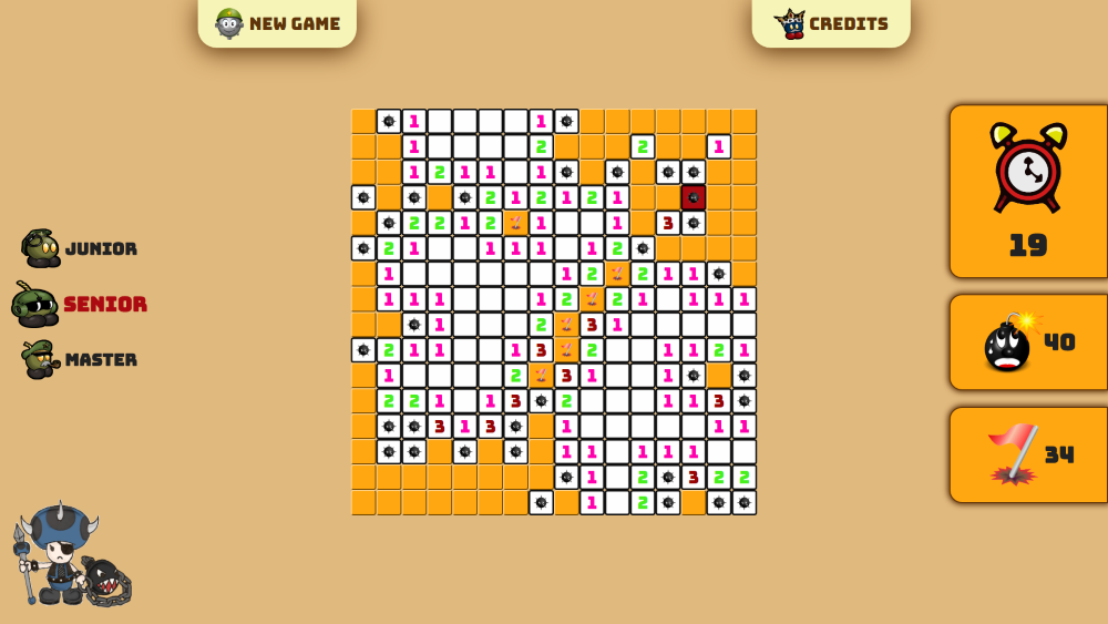 Jsfeeds Minesweeper Game
