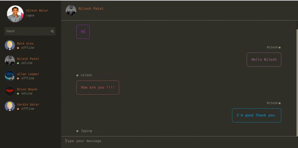 Batcave - Chat App - Angular