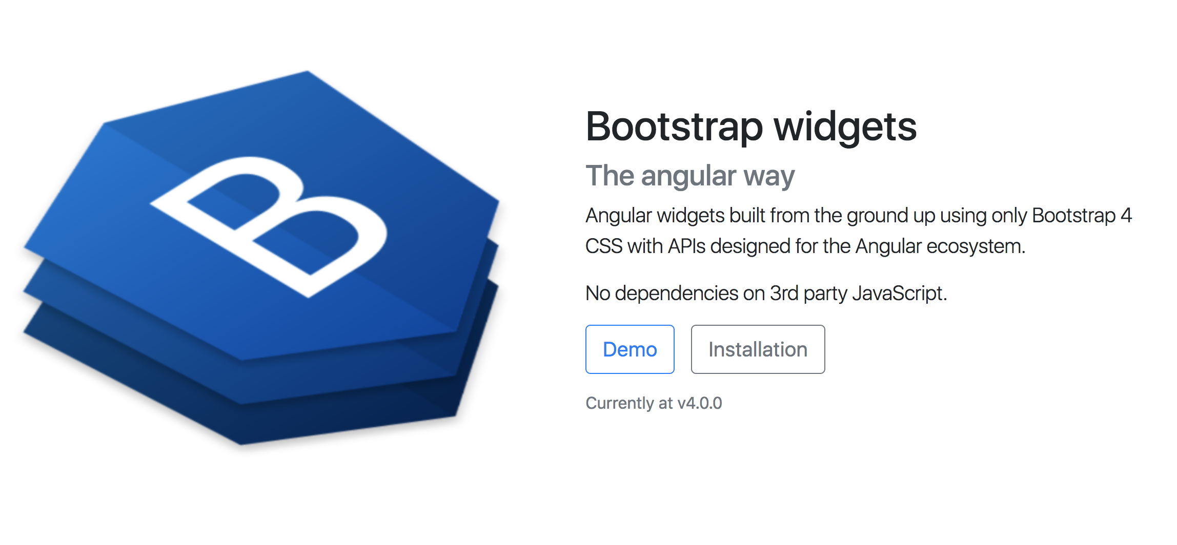NG Bootstrap - Angular Directives for Bootstrap 4 - Angular