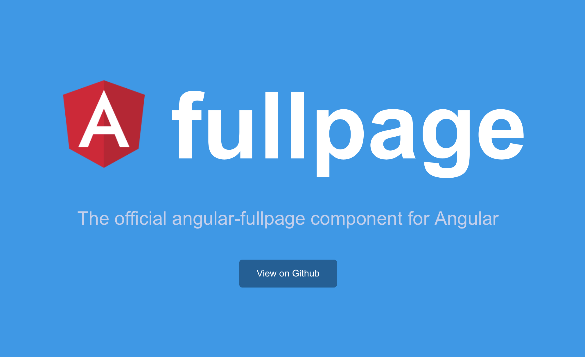 Angular fullpage - official angular-fullpage component - Angular