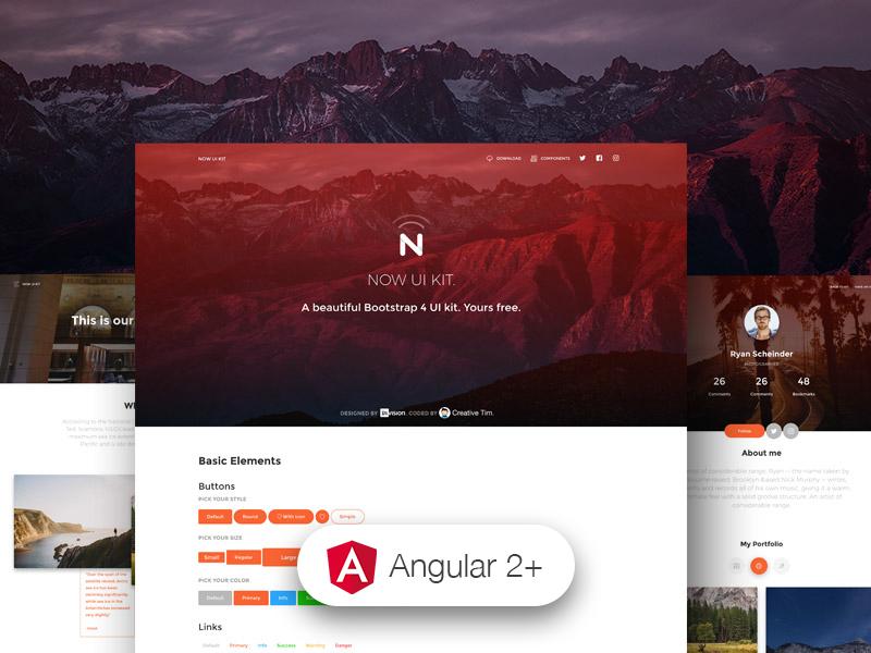 Now UI Kit Angular - Angular