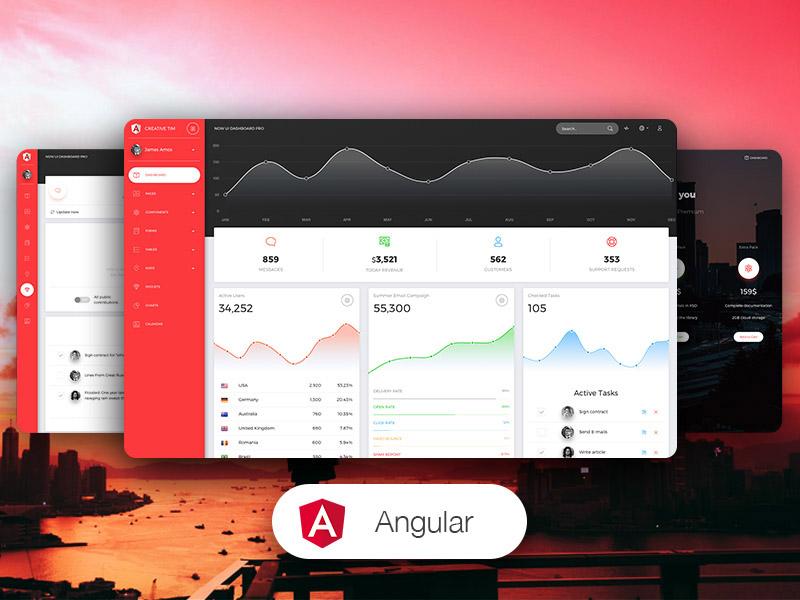 Now UI Dashboard PRO Angular - Angular