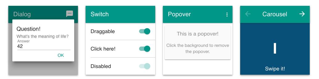 Onsen UI - Angular