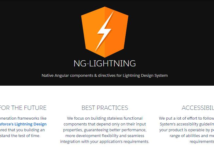 NG-Lightning - Angular