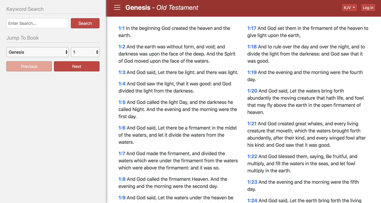 Bible AngularJS UI - Angular