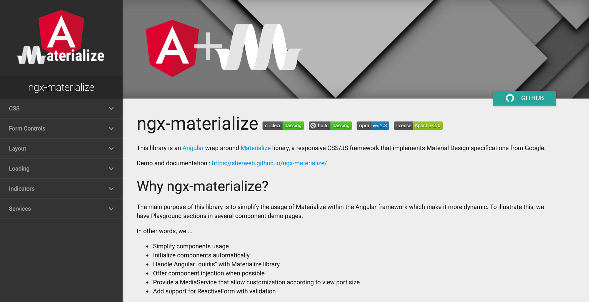 ngx-materialize - Angular