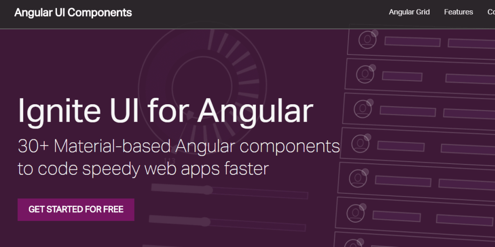 Ignite UI - Angular