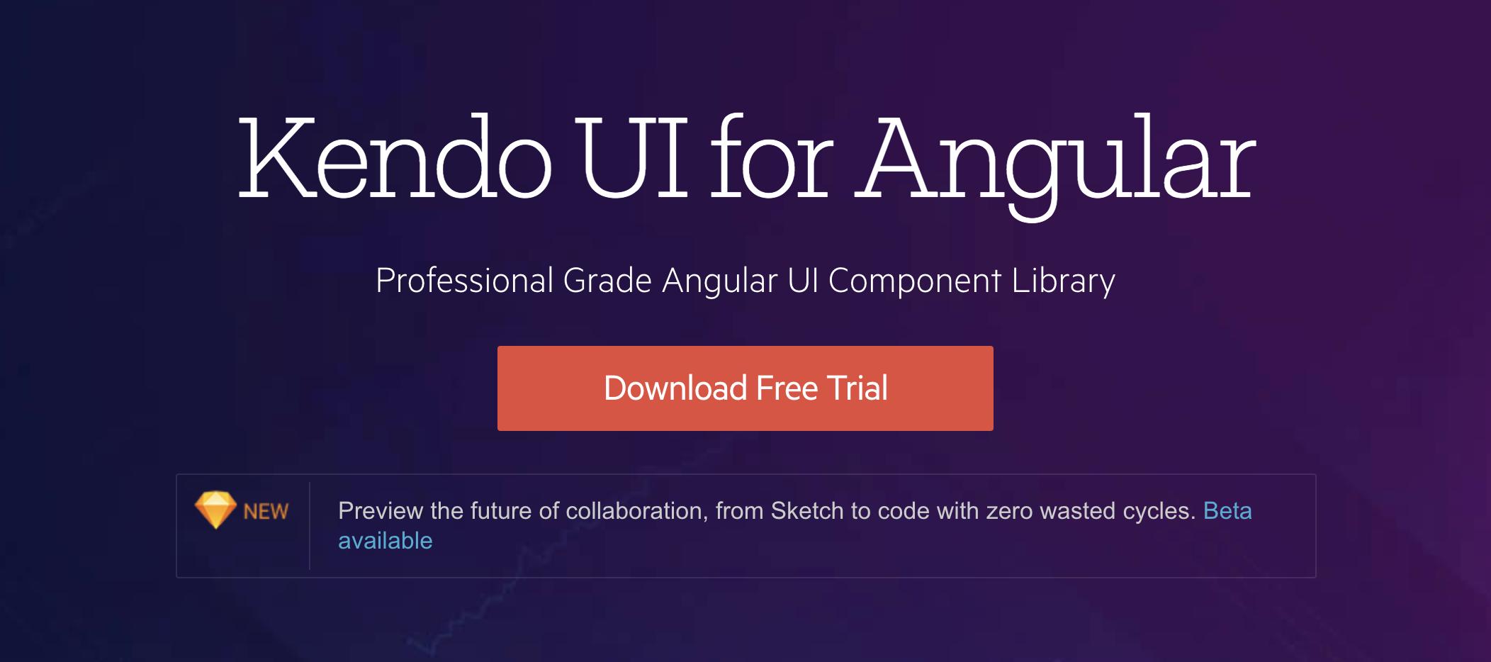 Kendo UI Angular - Angular