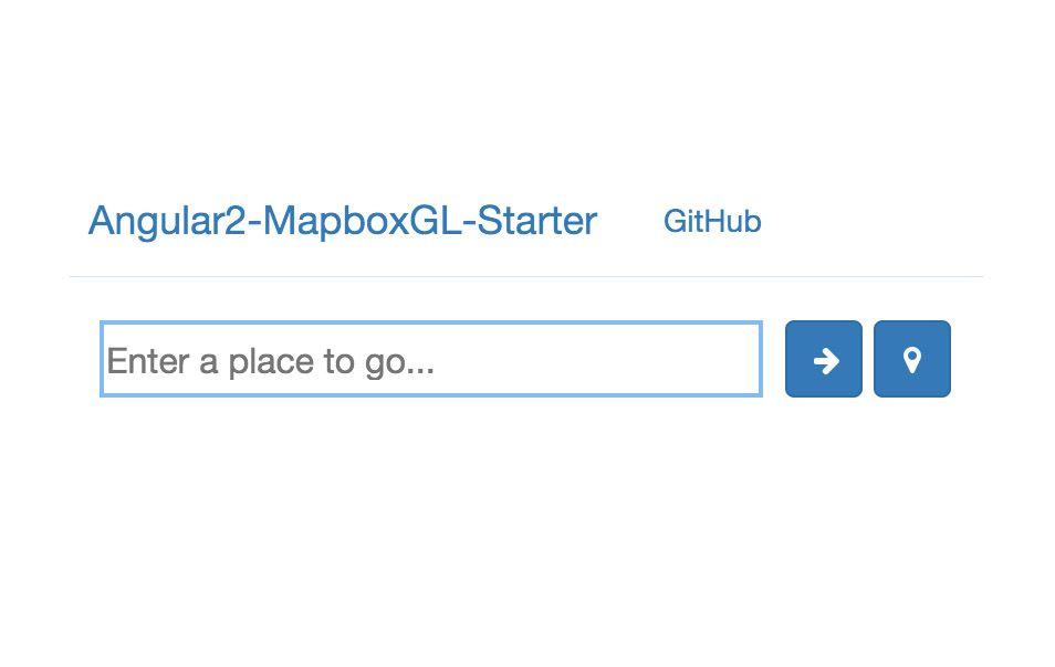 ngx-mapboxgl-starter - Angular
