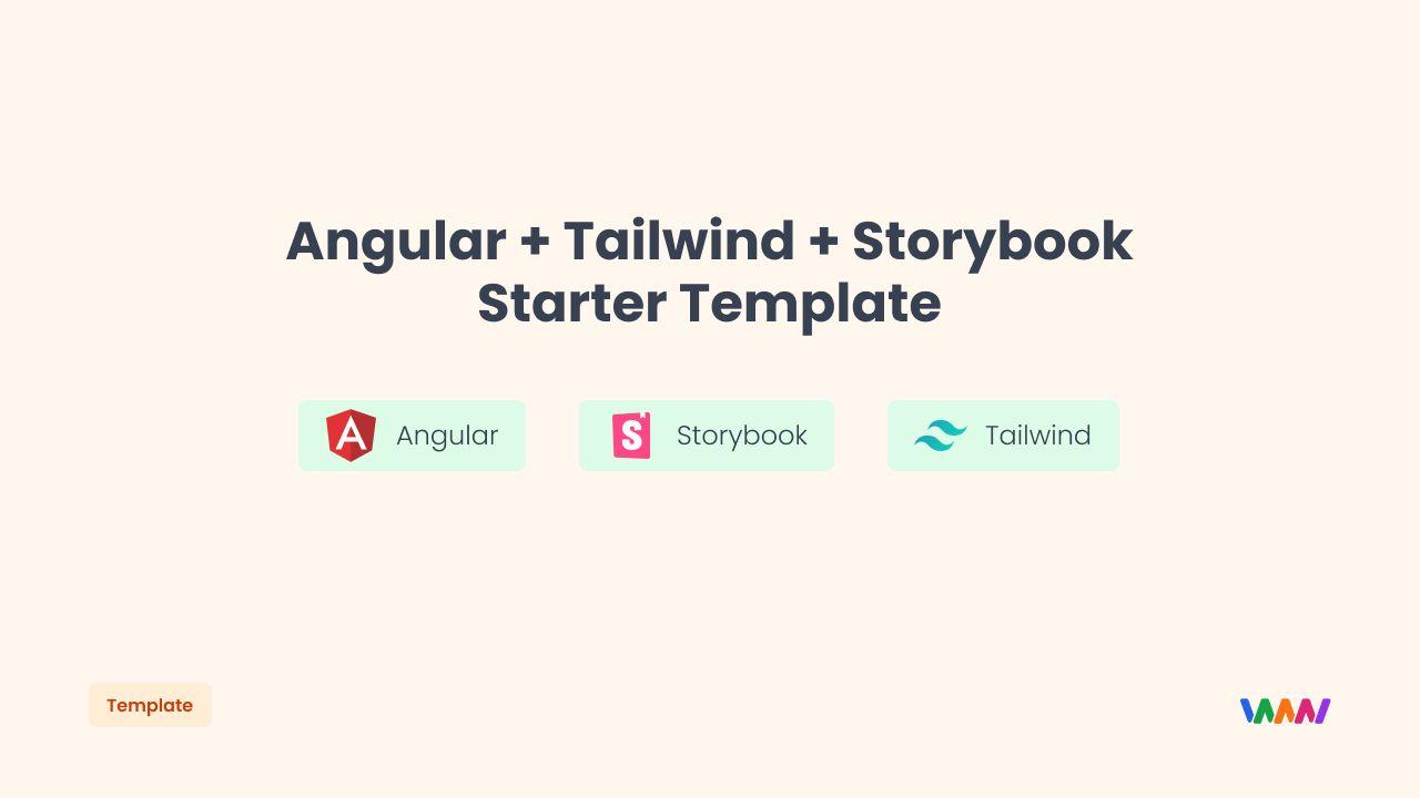 Angular-Tailwind-Storybook - Angular